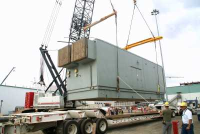 The standby diesel generator at the Hanford Vit Plant